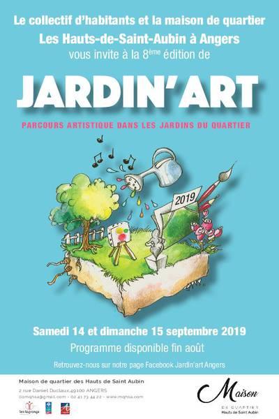 Jardinart : parcours artistique dans les jardins du quartier