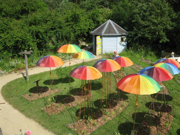 Image Atelier Jardin bio: Conception d'un décor de jardin