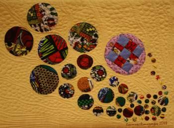 """Image Exposition """"Art textile d'Afrique et d'Ailleurs"""""""