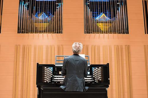 Inauguration de l'orgue hybride
