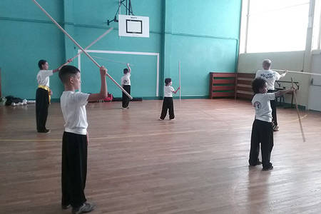 Initiation bâtons, kung-fu