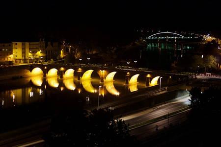 Visite en car: Angers en lumière