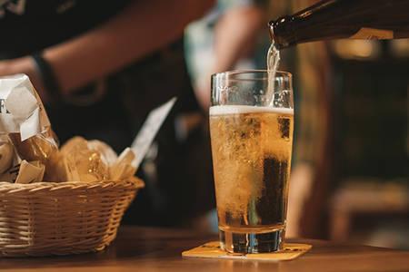 Dégustation de bières cuisinées et accompagnements gourmands