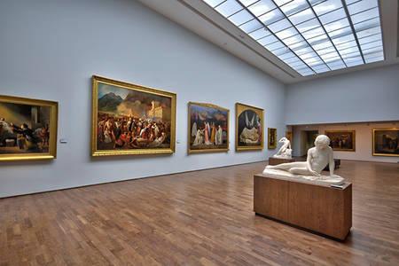Visite du musée des beaux-arts