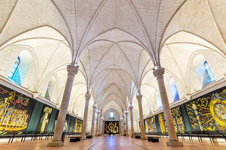 Démonstration de tissage au musée Jean-Lurçat et de la tapisserie contemporaine