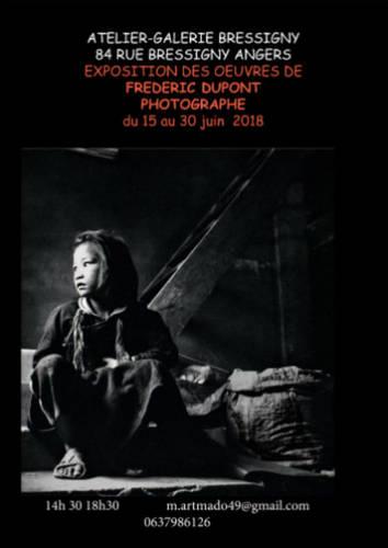 Exposition des photographies de  Frederick Dupont
