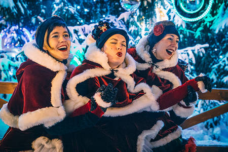 The Turkey Sisters chantent Noël