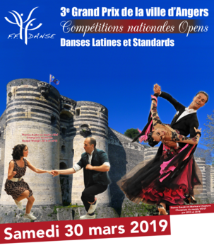 Compétitions nationales et opens danses latines et standards