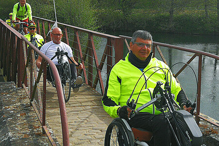 Initiation au tandem et handbike