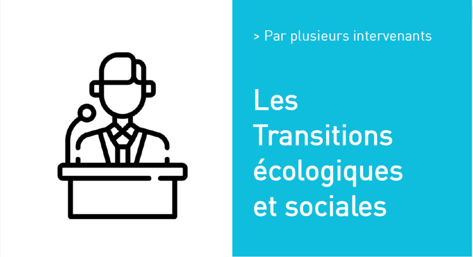 Les Transitions écologiques et sociales