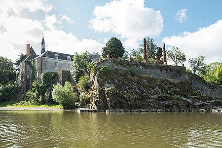 Visite de l'ancien couvent de la Baumette