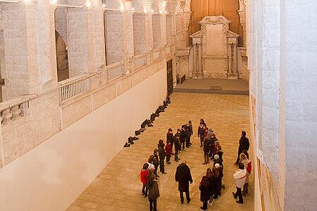 Visite de l'abbaye du Ronceray