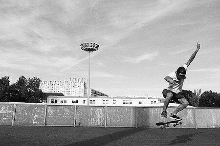 Contest skateboard et concert