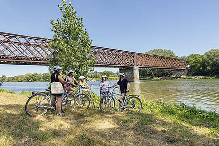 Angers Bike Tour à l'île Saint-Aubin
