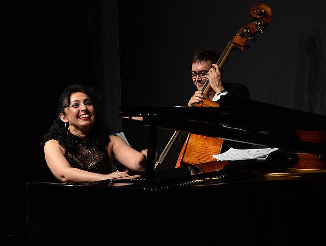 Ramona Horvath et Nicolas Rageau quintet