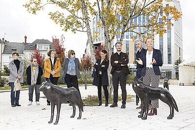 Les loups de la place Giffard-Langevin