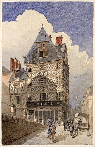 L'architecture en pan de bois à Angers