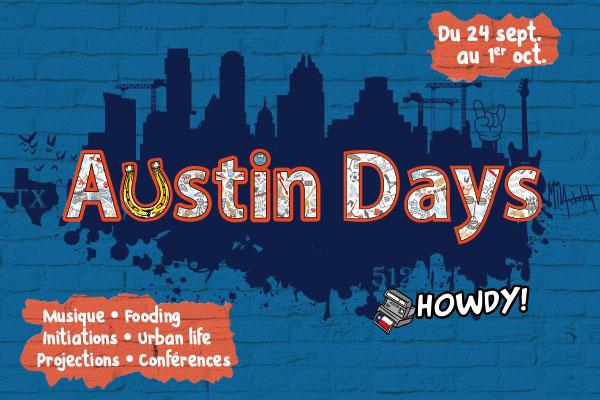 Angers à l'heure d'Austin du 24 septembre au 1er octobre
