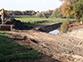 Image Chantier restauration de fossés au parc de Balzac