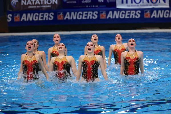 Finale nationale et championnat de France de natation artistique