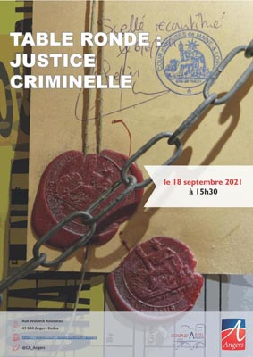 """Table ronde """"Justice criminelle"""""""