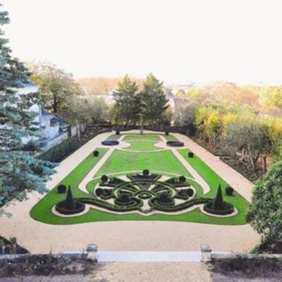 Visite des jardins de la Villa Médicis