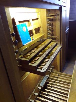 Visite de l'orgue de l'église Saint-Aubin