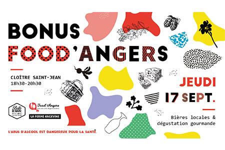 Bonus Food'Angers - dégustation gourmande de bières locales