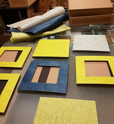 Initiation à la fabrication d'un meuble en carton