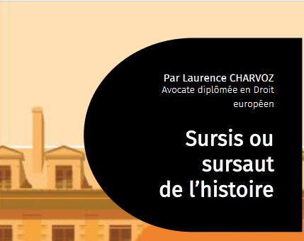 Sursis ou sursaut de l'histoire - Intervenant Laurence Charvoz