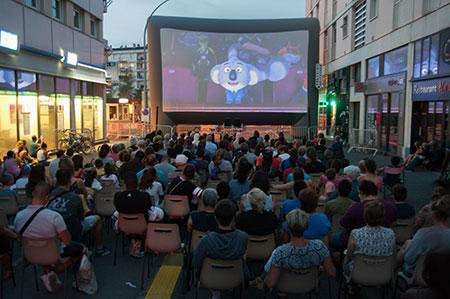 Festival de courts-métrages en plein air