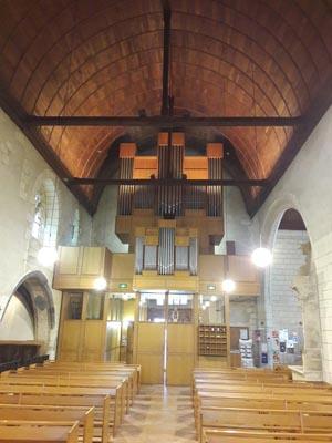 Concert à l'église Saint-Aubin
