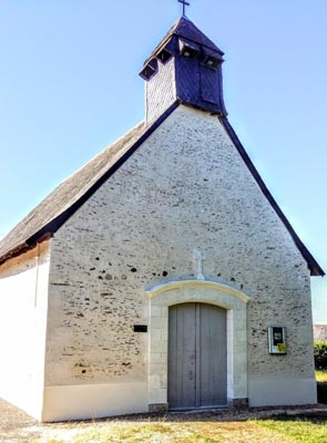 Peintures à la chapelle des Vignes de Feneu