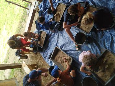 Atelier archéo'logique au Château à Motte