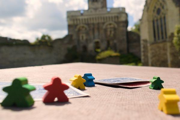 Le château sur un plateau