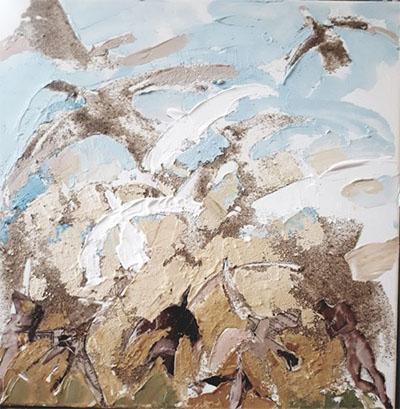 Des collages au pays des oiseaux