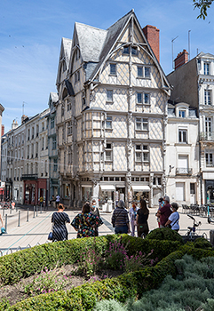 Angers et l'Europe, une trace dans l'Histoire