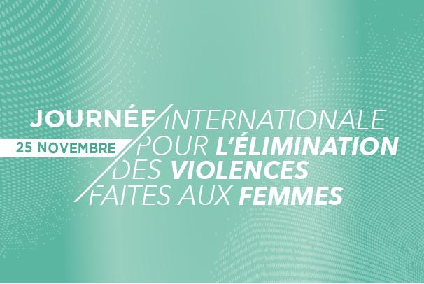 Violences faites aux femmes: point d'information éphémère