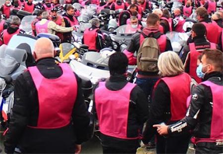 Octobre rose - Randonnée moto