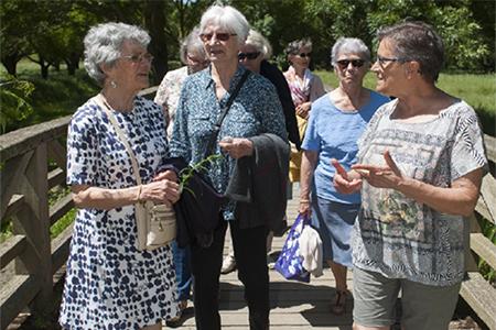 Marche tonique : 6 km au parc de la Garenne